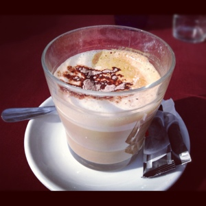 Cafe con leche: Breakfast of champions
