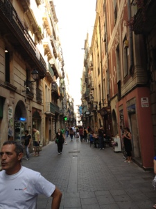 Down every narrow street in Barcelona, great food awaits.