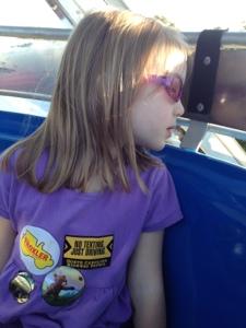 Fearless on the Ferris Wheel.
