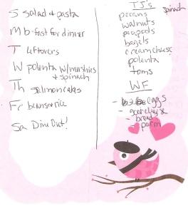 Weekly Menus: 10/14/2012