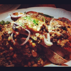 The cassoulet from Joseph Leonard included pork 3 ways and a whole lot of delicious.