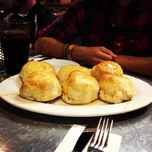Biscuits from Hash House a Go Go.