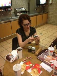 More Tweeting Than Eating