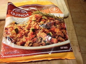 Quinoa Melange from Trader Joe's (frozen!)