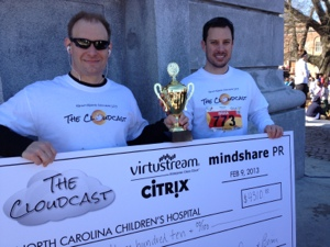 Top Team Fundraiser at the Krispy Kreme Challenge: Thanks to our sponsors!!