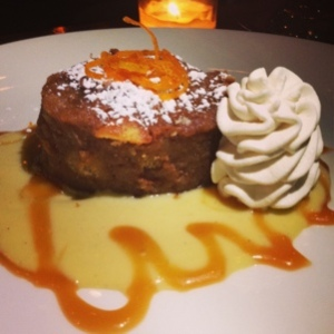 Hello chocolate bread pudding. No, I don't want to share you.