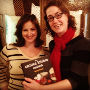 Great to meet Deb Perelman of Smitten Kitchen fame!