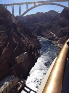 The urge to make dam jokes is irresistible: Hoover Dam