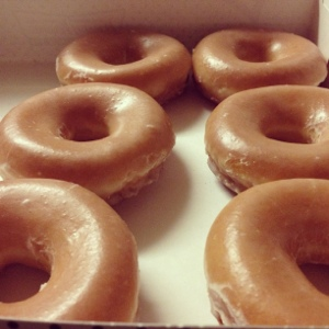 Hello my glazed pretties. This was my reward for a hard-fought week.