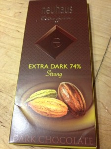 Hello Extra Dark Belgian Chocolate. You are never bitter.