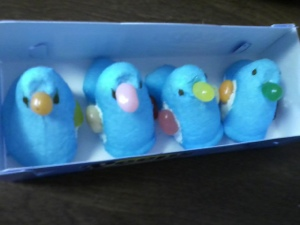 Peeps 2.0: Now with jellybeans.