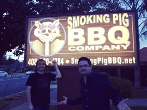 The Smoking Pig: Someone please start a band called Angry Vegans and use this as the cover.