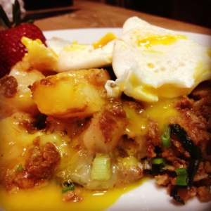 Chorizo Hash: I think I love you