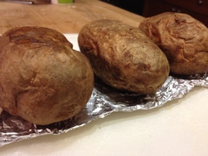 Why not make extra baked potatoes?