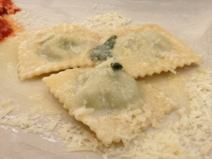 Ravioli, simple, classic, done right.