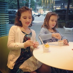 How can school lunch compare with Pinkberry in NYC?